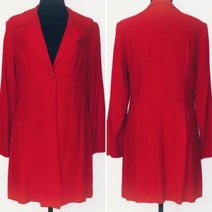 VTG 80s Dawn Joy long jacket / blazer